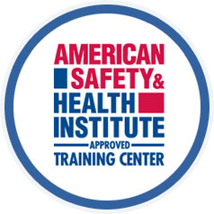 American Safety & Health Institute Approved Training Center badge